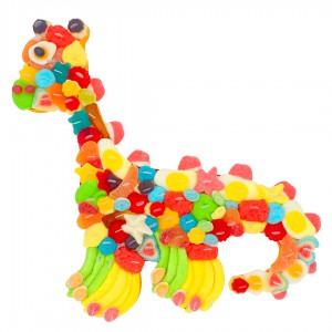 Dinosaure multicolore
