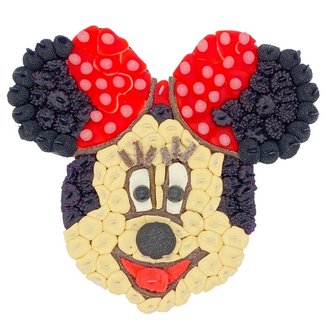 gateau Minnie en bonbons