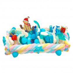 Blue ICE - bûche de Noël