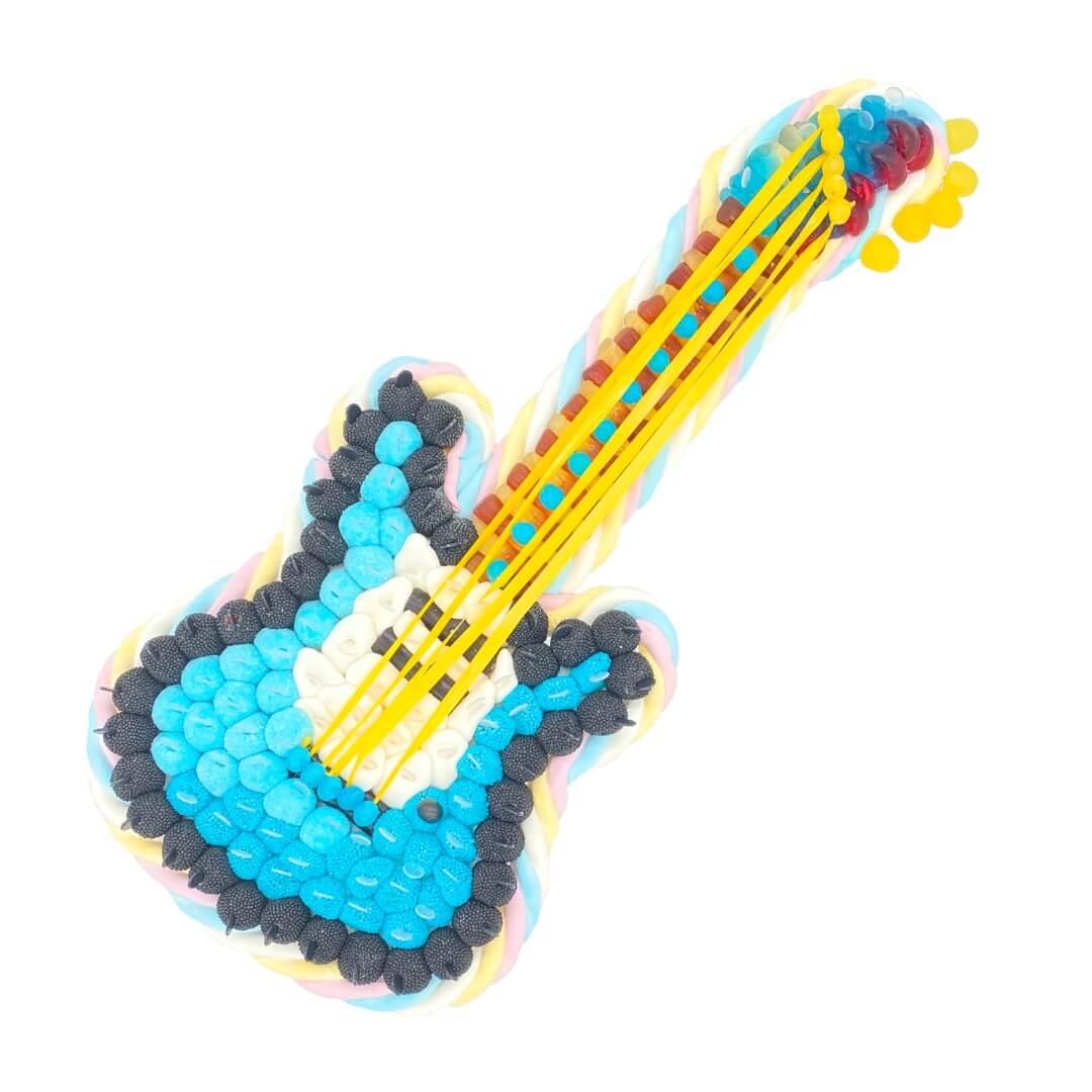 guitare-électrique-bonbons-gateau