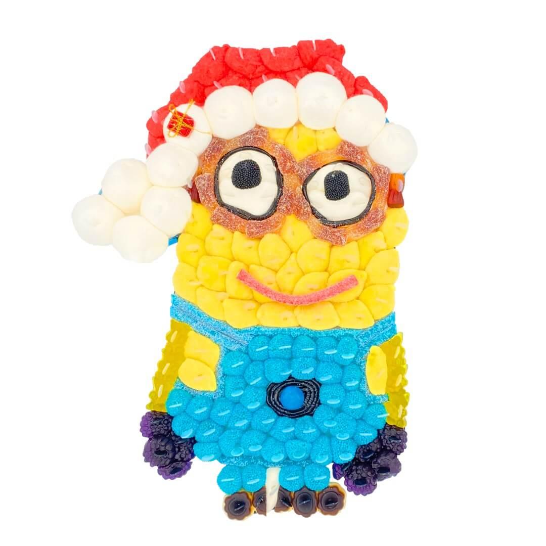 Minion de Noël en bonbons