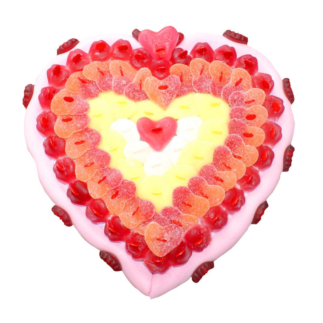 cœur-pêche-gateau-bonbon
