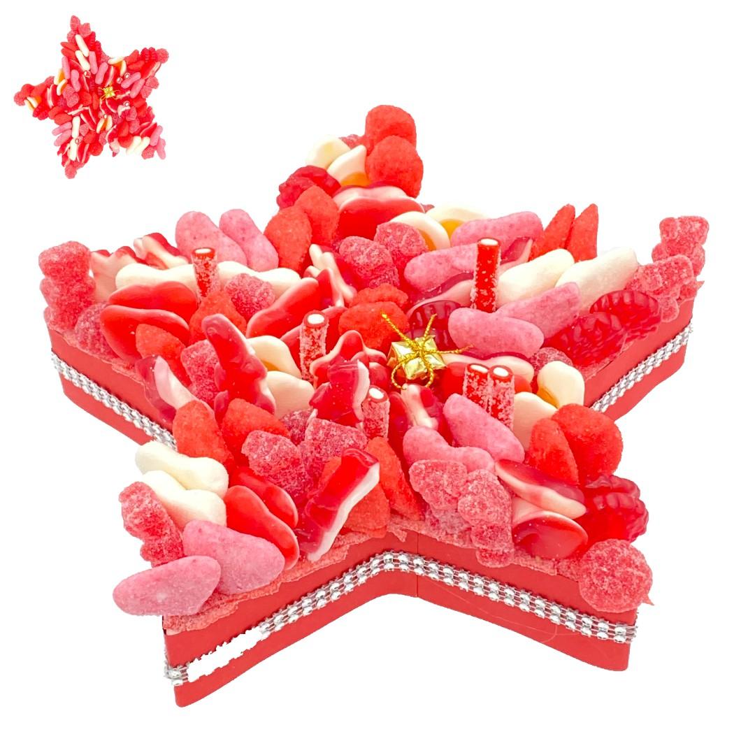 gâteau-étoile-bonbons