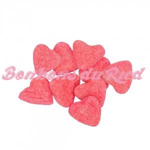 Coeur aéré fraise
