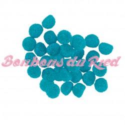bonbon bleu mûres perlées FINI