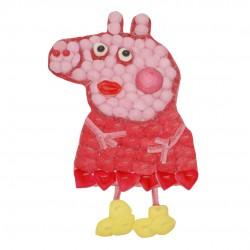 Gateau Pepa Pig en bonbons