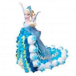 Reine des Neiges en bonbons