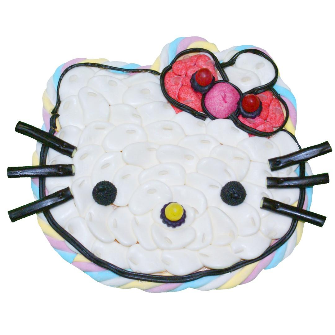Gâteau de bonbons Hello Kitty - Bonbons du Ried