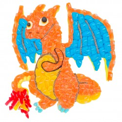 gateau bonbon dragon dracaufeu