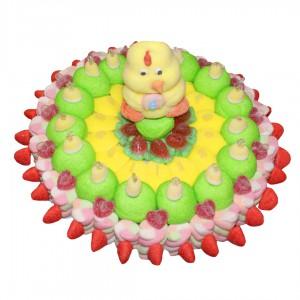 Poussin de Pâques en bonbons