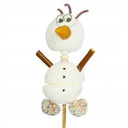 Brochette de bonbon OLAF bonhomme de neige