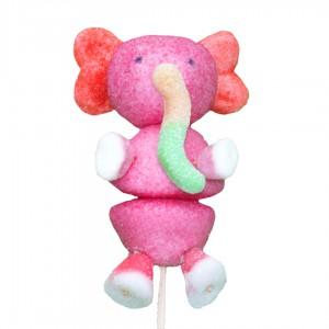 Brochette en bonbons éléphant