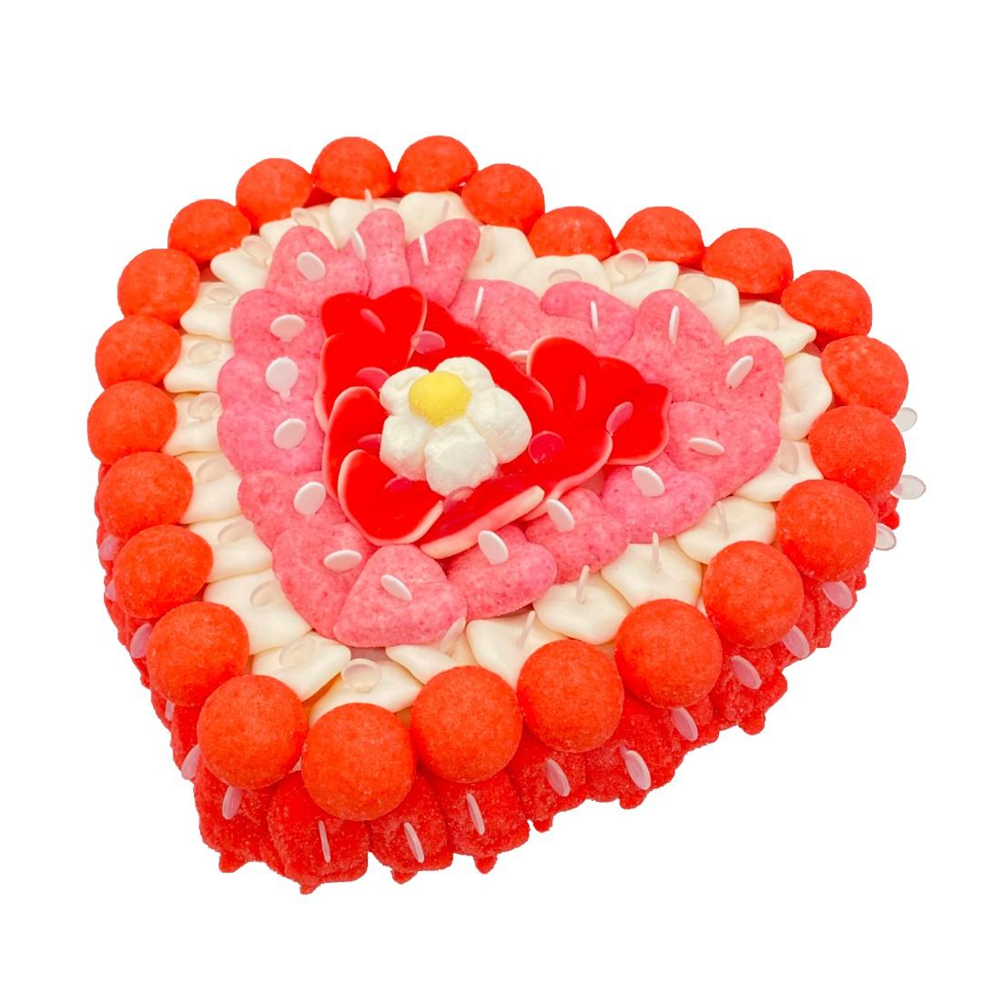 Bonbon Tagada gateau cœur