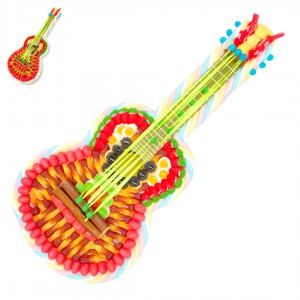Guitare en bonbons