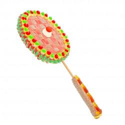 Raquette de badminton en bonbons 3D