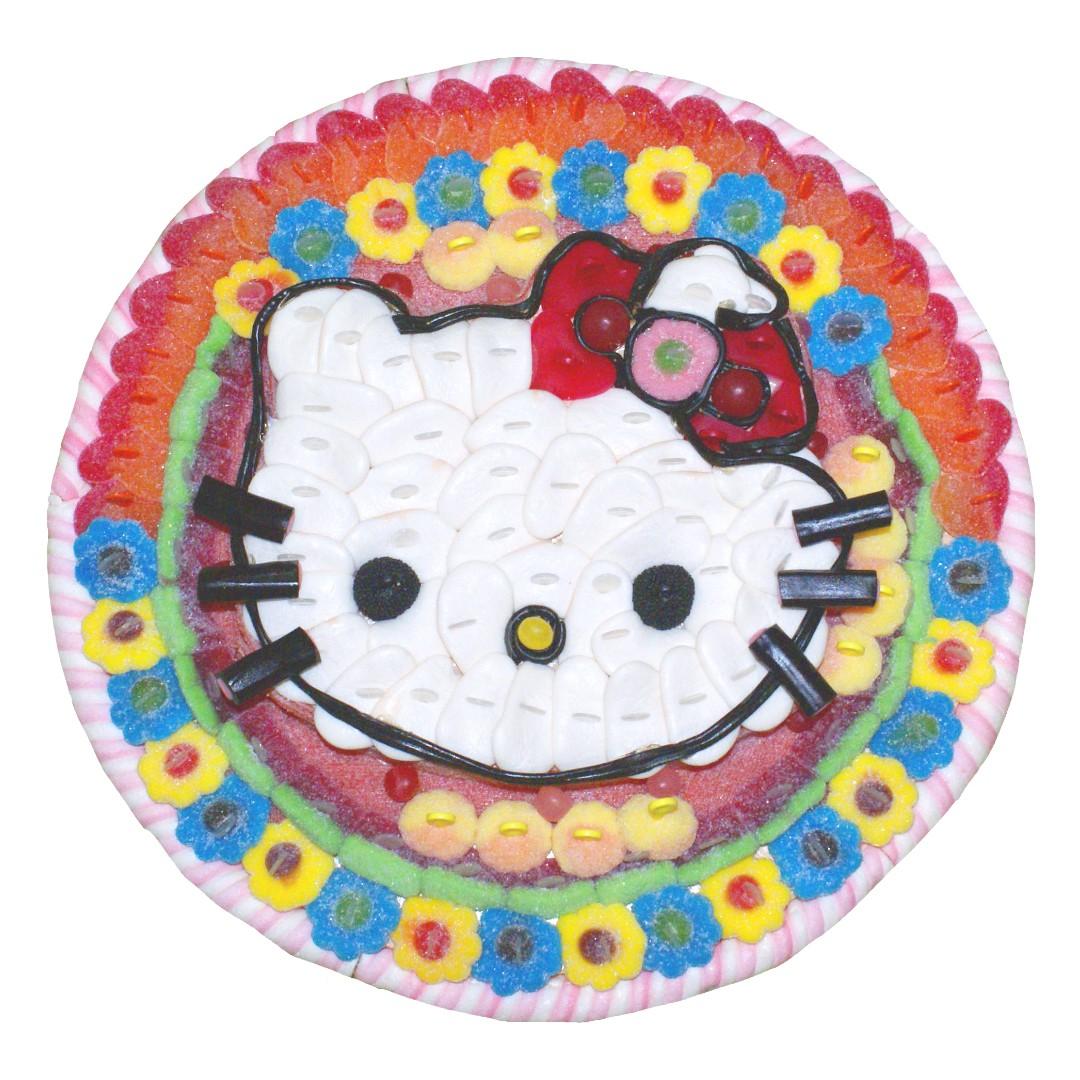 Gâteau de bonbons Hello Kitty Halal