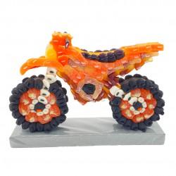 moto cross 3d en bonbons - KTM