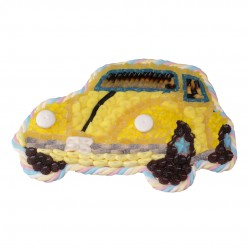 voiture en bonbon coccinnelle