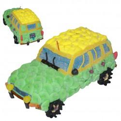Renault 4 gateau bonbon