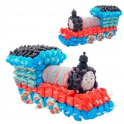 gateau thomas le train en bonbons