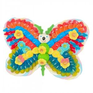 Papillon de bonbons schtroumpfs
