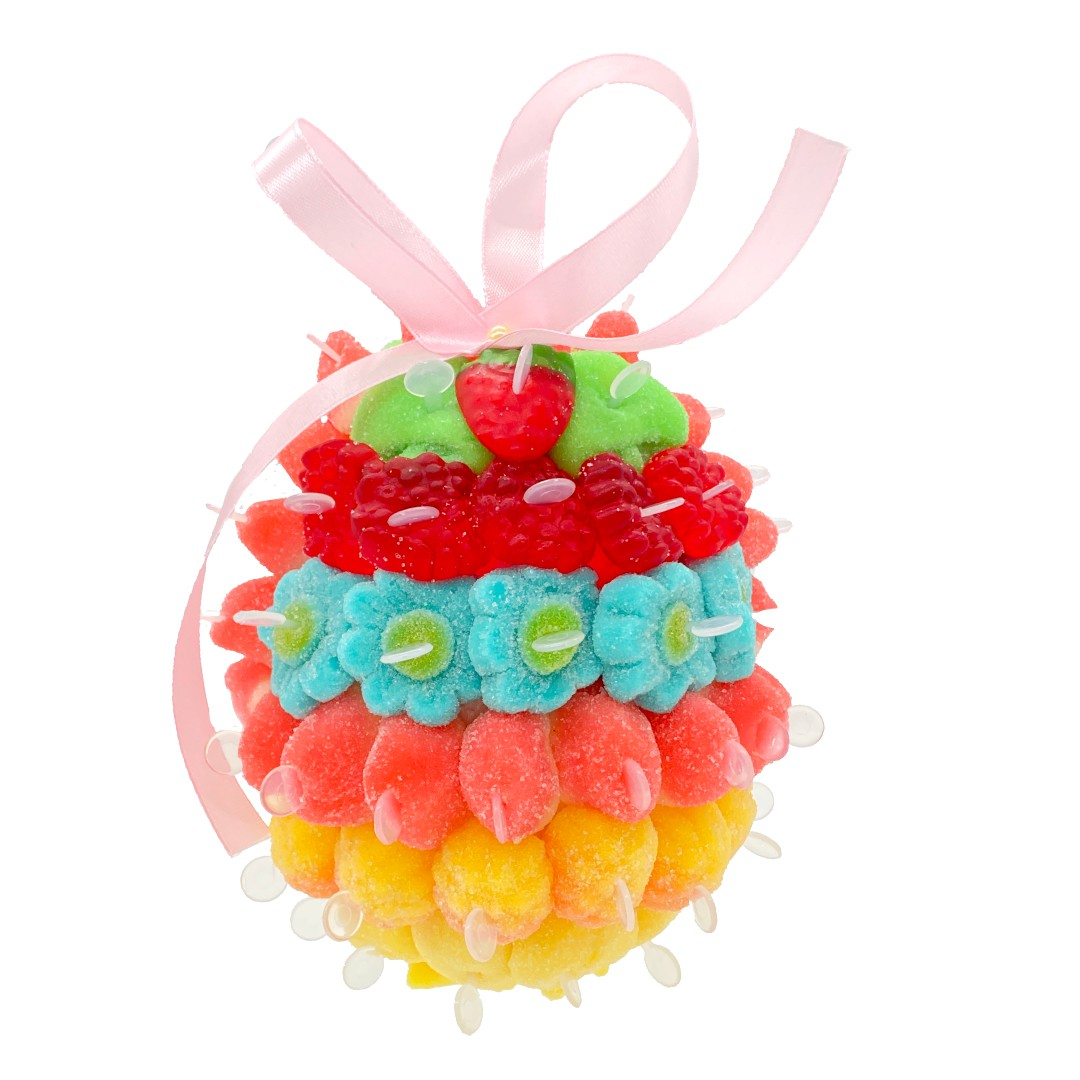 Œufs de Pâques 3D en bonbons