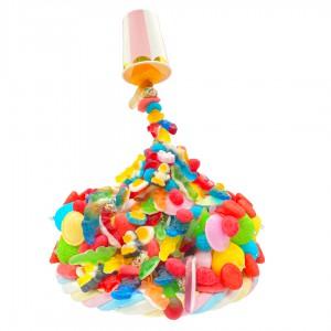 Candy Gravity Cake