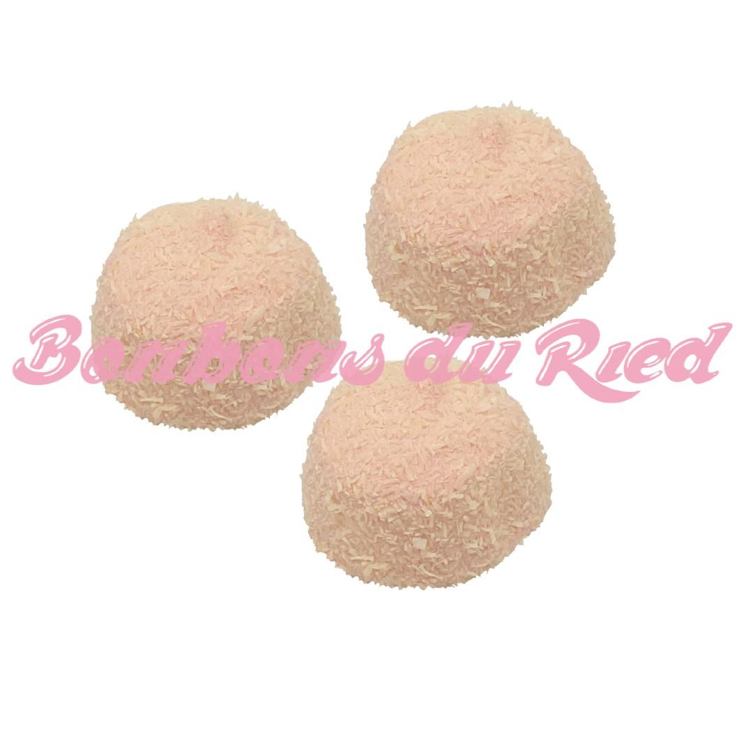 Balle de golf coco rose