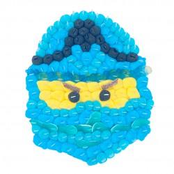 Ninjago en bonbons bleus