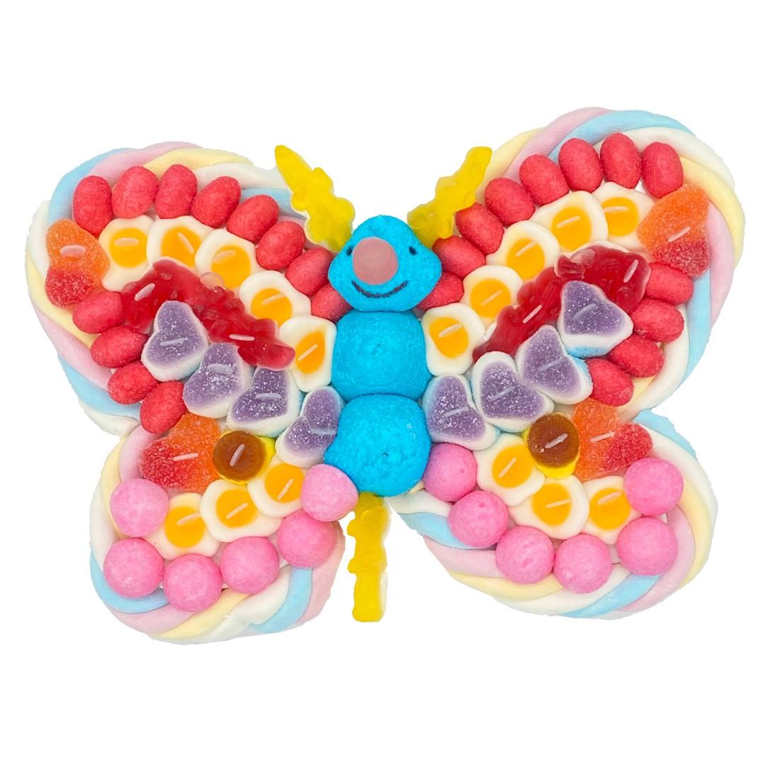 Papillon en bonbons Tagada