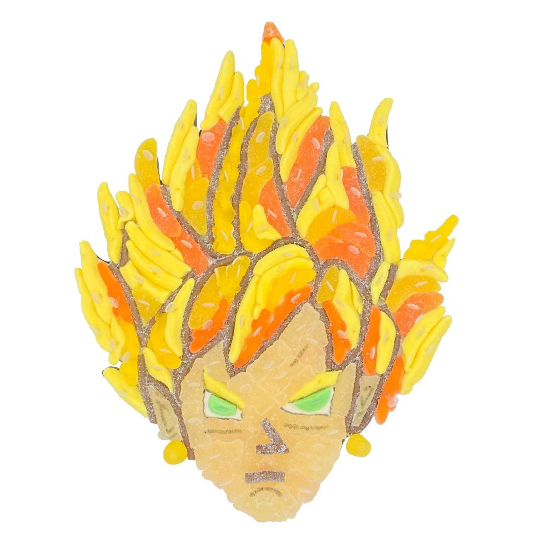 Gateau Dragon Ball en bonbon