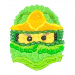 Ninjago en bonbons verts