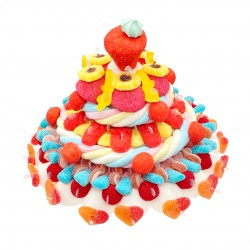 Gâteau en bonbons Amandine