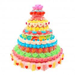 Gâteau de bonbons halal Yasmine