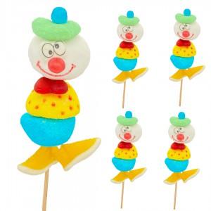 Brochettes en bonbons Clown