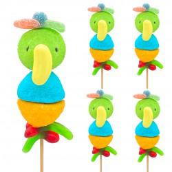 Brochettes Perroquets en bonbons