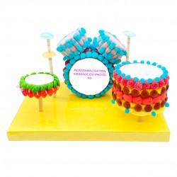 Batterie en bonbons 3D
