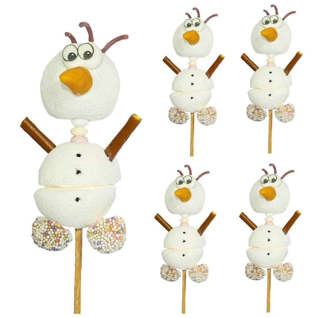 Brochette bonhomme de neige OLAF