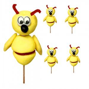 brochette en bonbons abeille