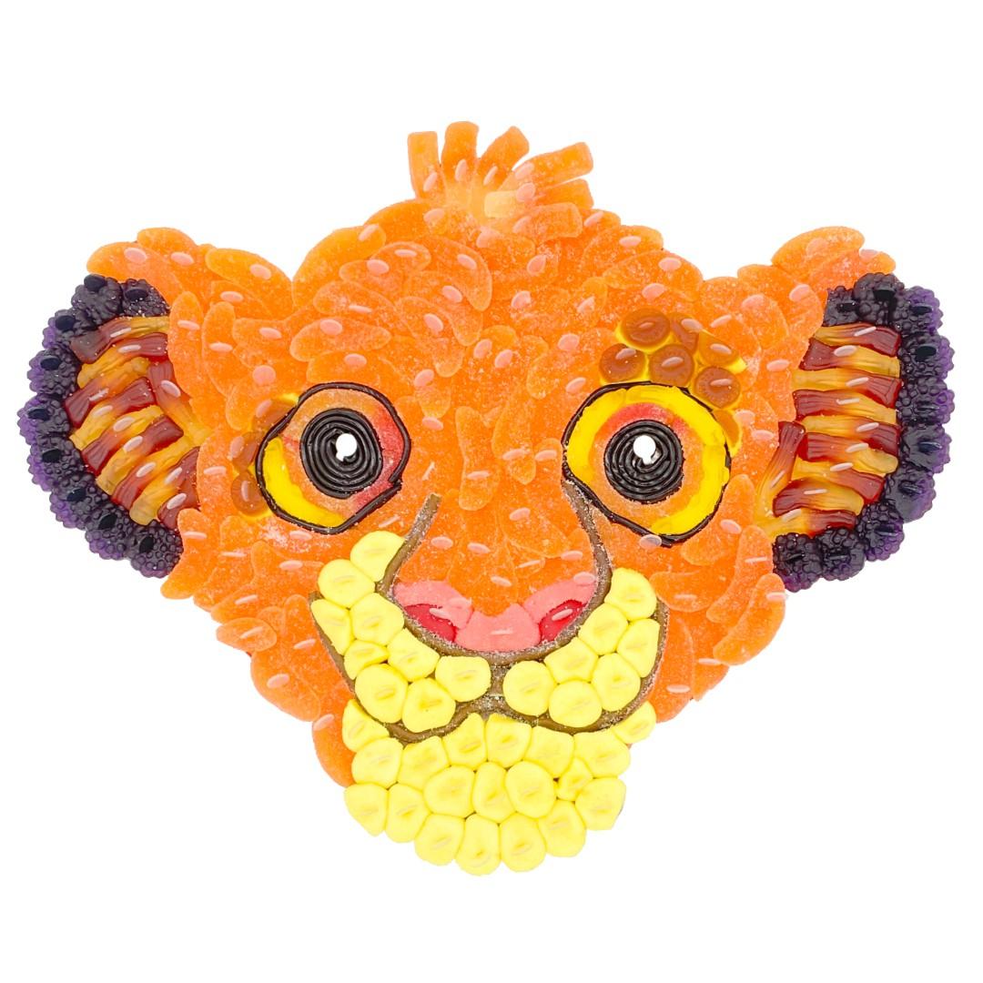 Roi Lion SIMBA en bonbons