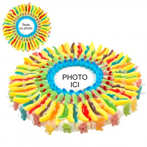 Gâteau de bonbons photo