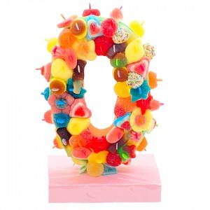 Chiffre 3D bonbons HALAL