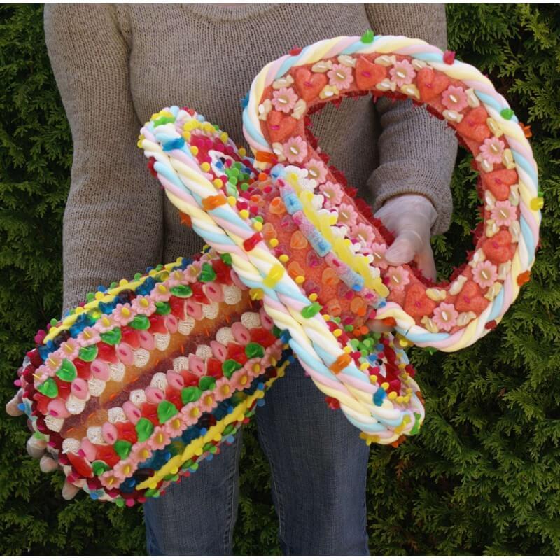 Tétine en bonbons 3D