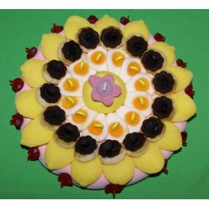 Gâteau de bonbons soleil