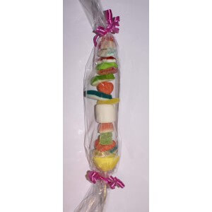 Brochette surprise en bonbons