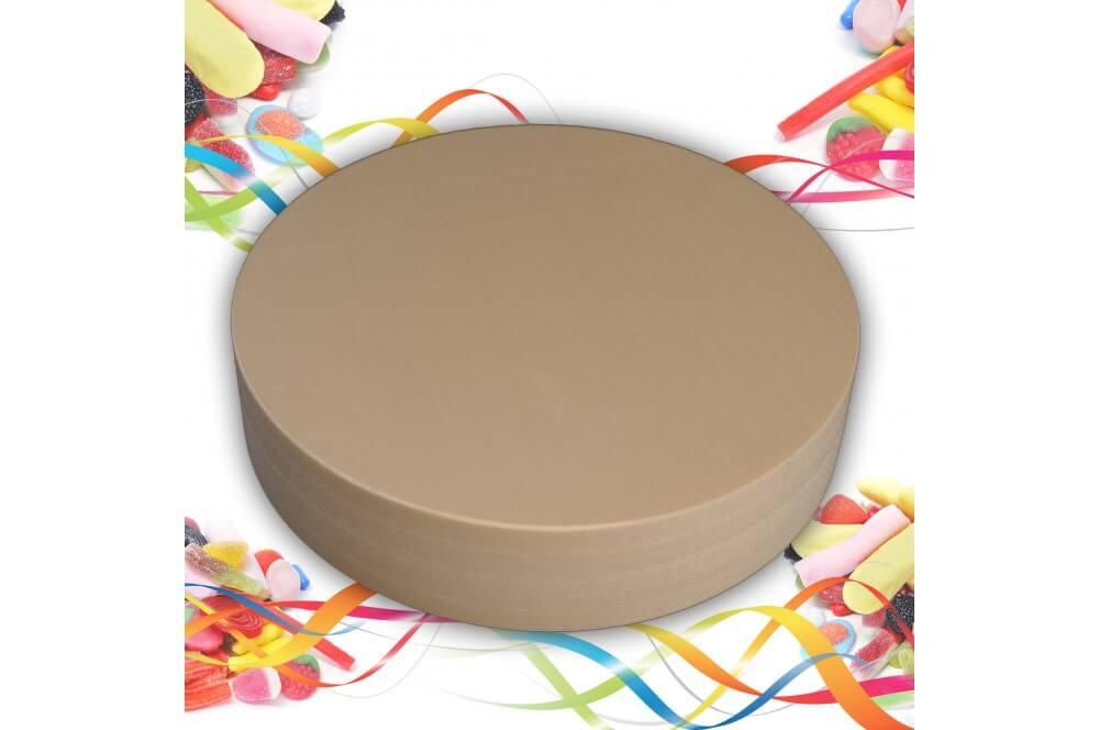 Support polystyrène rond épaisseur 4 cm