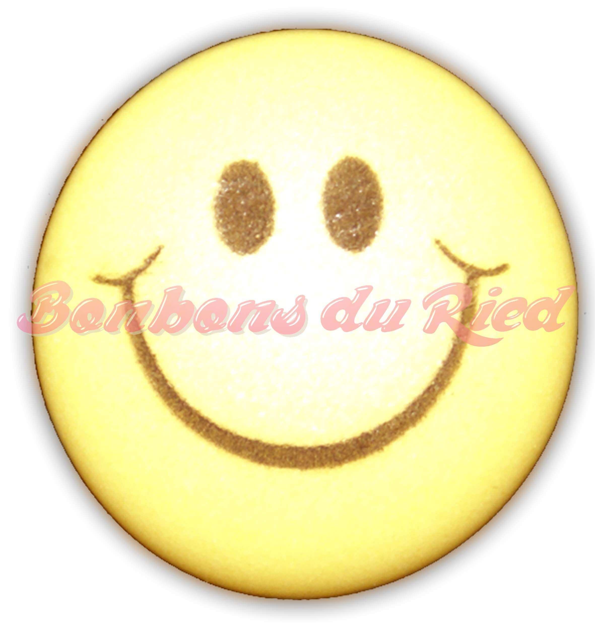 Smiley en sucre