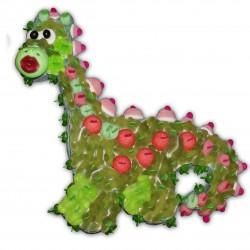 Dino vert en bonbons
