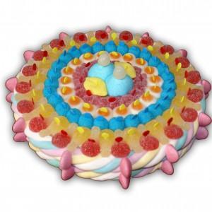 Gâteau en bonbons mangez-moi