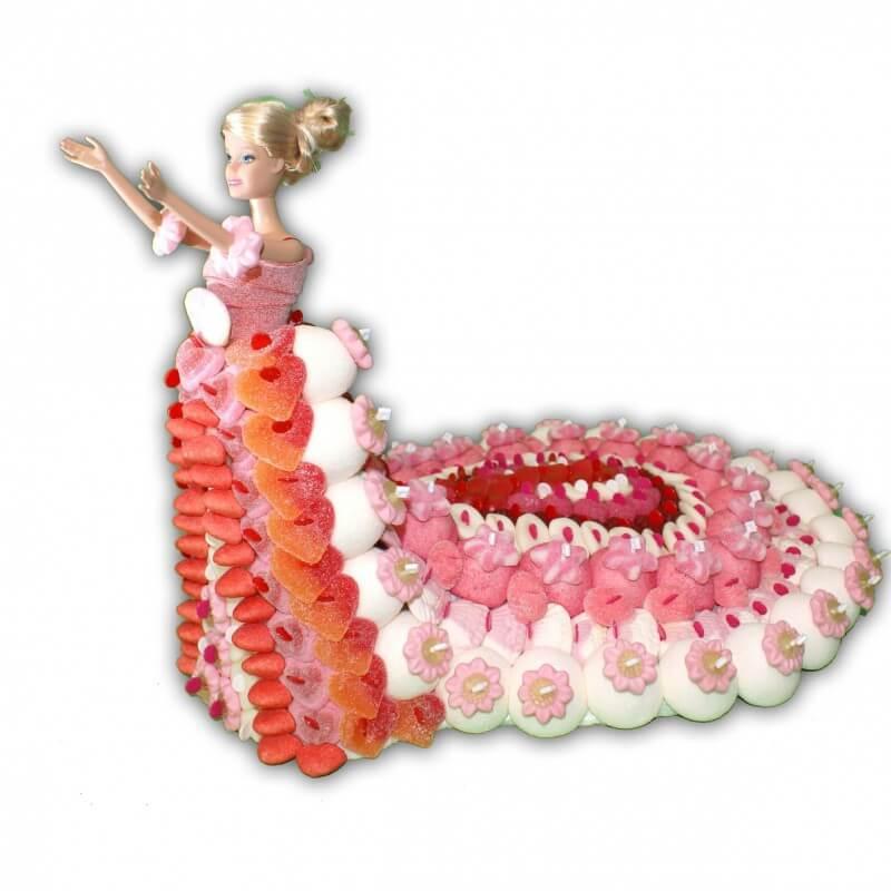 Mariée en bonbons